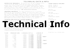 113 Technical Data